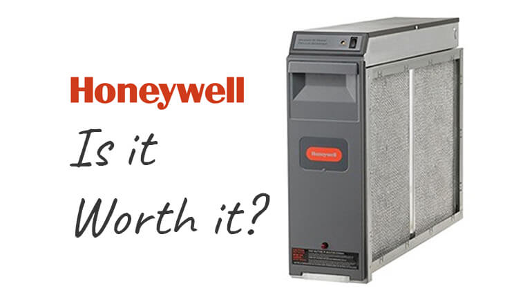 honeywell electronic air cleaner